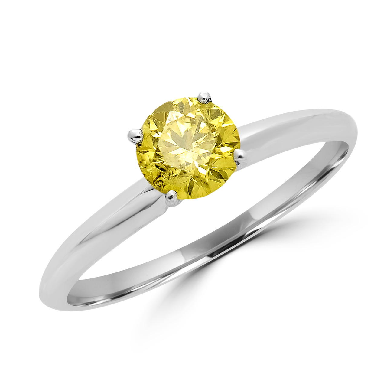 8f4a39cd58 Canary Yellow Diamond Engagement Rings | Bijoux Majesty
