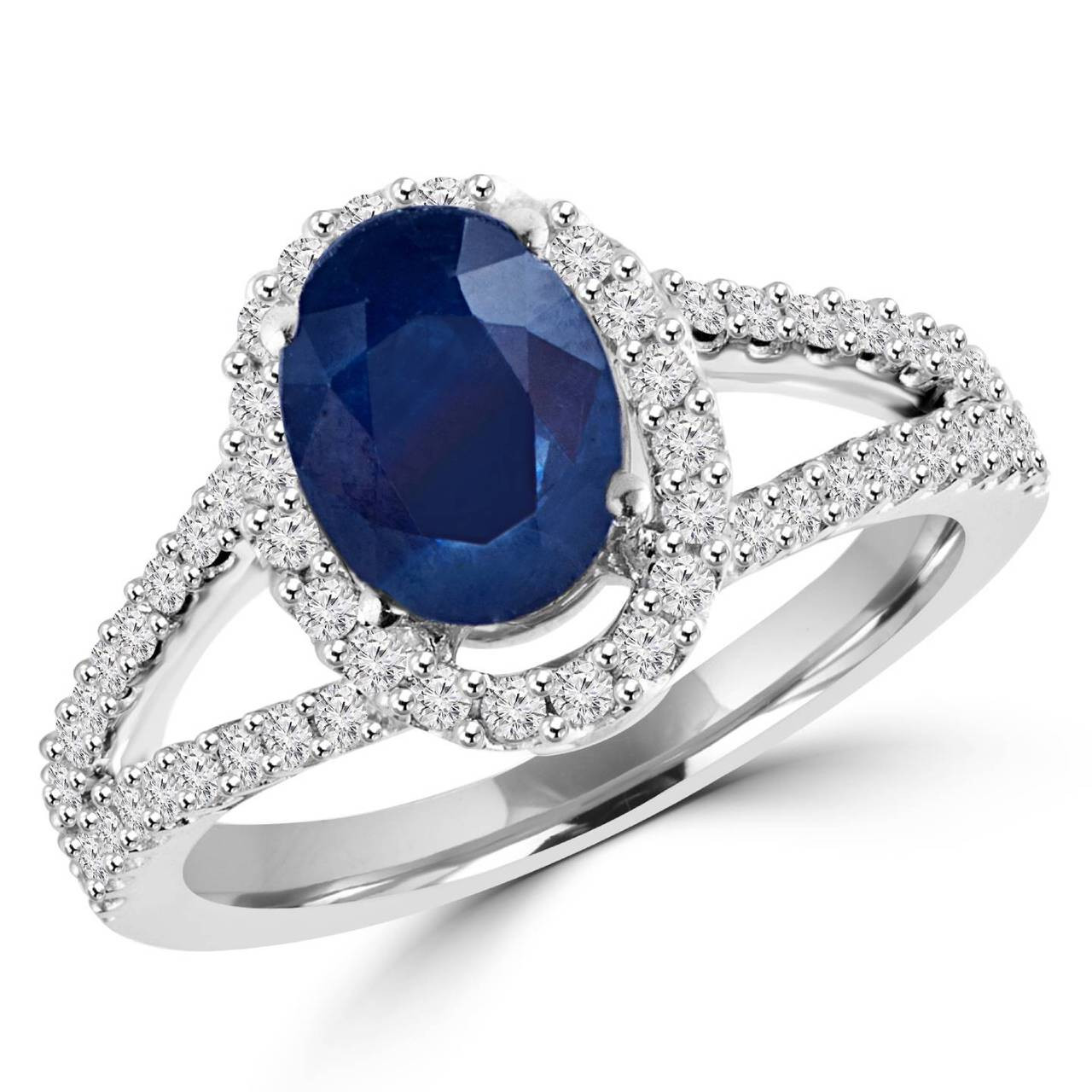 6aff7a5479558 Blue Sapphire Rings | Bijoux Majesty