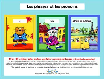 Les phrases et les pronoms e-Lesson