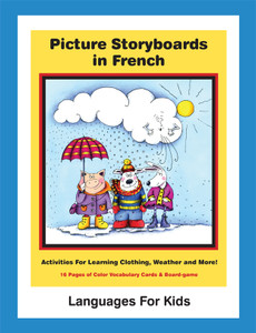Picture Storyboards in French - Cover