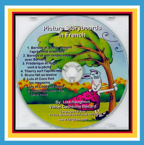 Picture Storyboards in French CD