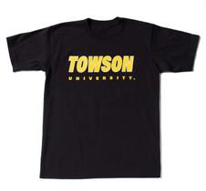 "Towson ""Portfolio"" Black 6.1 oz. T-shirt"