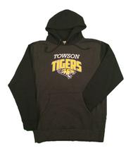 Towson Tiger Mania 10.0 oz. Color Block Hoodie