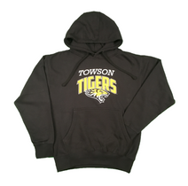 Tiger Mania 9.0 oz. Solid Black Hoodie