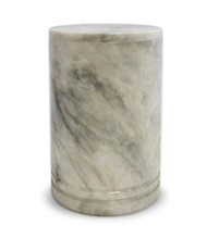 Tuscan White Large Marble Urn for Ashes
