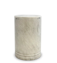 Toscano White Marble Medium Urn For Ashes