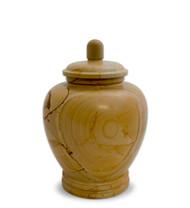 Eternal Teakwood Keepsake Urn for Ashes - Medium
