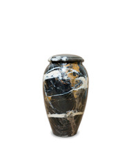 Black Orchid Serenity Keepsake Urn For Ashes - Small Keepsake