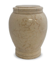 Everlasting Seashell Marble Cremation Urn for Ashes - Full Size (Adult)