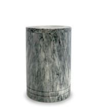 Medium Toscano Grey Marble Urn For Ashes