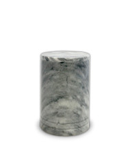 Toscano Cloud Grey Marble Urn For Ashes - Small