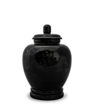 Eternal Black Marble Keepsake For Ashes - Medium