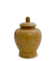 Eternal Teakwood Keepsake Urn for Ashes - Small