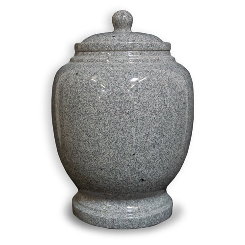 Eternal Grey Granite Cremation Urn For Ashes - Full Size (Adult)