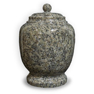Eternal Pine Green Granite Cremation Urn For Ashes - Full Size (Adult)