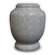 Everlasting Grey Granite Cremation Urn for Ashes - Full Size (Adult)