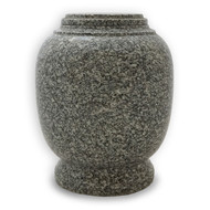 Everlasting Cloud Grey Granite Cremation Urn for Ashes - Full Size (Adult)