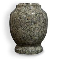Everlasting Pine Green Granite Cremation Urn