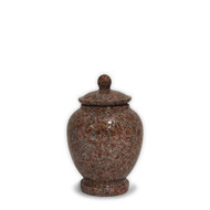 Eternal Mountain Rose Cremation Keepsake Urn For Ashes - Small