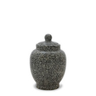 Eternal Cloud Grey Granite Keepsake Cremation Urn For Ashes - Keepsake