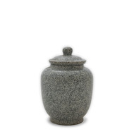 Eternal Grey Keepsake Cremation Urn For Ashes - Small