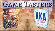 Game Tasters: December 5—Marvel Champions & AKA