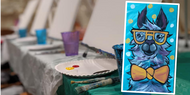 Painting Class—Llama Chic—February 24, 2020