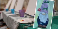 Painting Class—Springtime Gnome—March 23, 2020