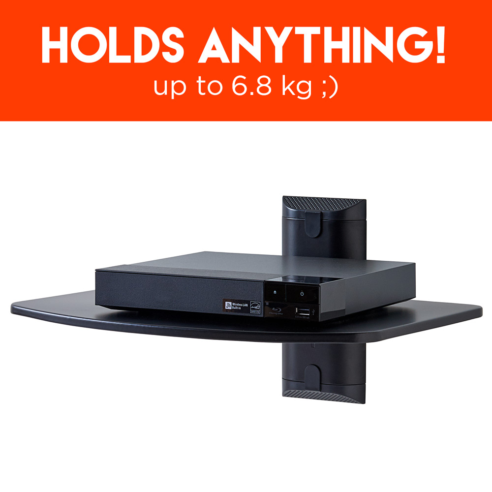 Holds anything, up to 6.8kg