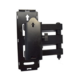 the wall plate makes mounting a computer screen or TV easy