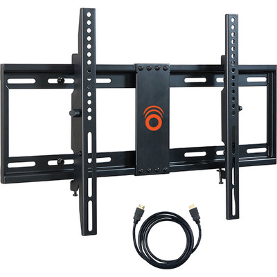Tilting TV mounts are great for reducing glare on the screen.