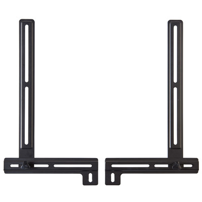 Get a sleek look and better function from your sound bar by mounting it.