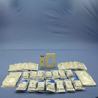 15 Leviton Ivory Decora Phone Jacks Telephone Wall Plate 40649-I