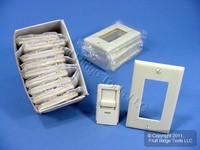 10 Leviton Ivory Illumatech Dimmer Switch Color Change Conversion Kits INKIT-I