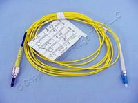3M Leviton Fiber Optic Singlemode Simplex Patch Cable Cord FC LC SPC SPSFL-S03