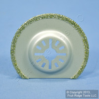 Imperial Blades Ceramic/Grout/Epoxy/Plaster Cut Diamond Half Round Blade MM710