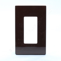 Leviton Brown Midway Size Decora Screwless Wallplate Cover GFCI GFI SJ26-S0 SJ26-S