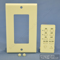 Leviton Almond Color Change Kit for 3-Address ALL On/Off DHC Controller DCK4A-A