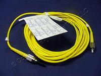 5M Leviton Fiber Optic Singlemode Simplex Patch Cable Cord FC FC SPC SPSFC-S05