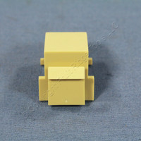 Eagle Ivory Modular Plastic Wallplate Blank 1-Port Filler Adapter Insert 5550V