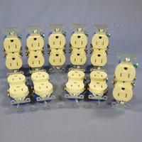 10 Cooper Ivory TAMPER RESISTANT Duplex Receptacle Outlets NEMA 5-15R 15A 125V TR270V