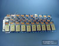 50 Leviton Decora Ivory 6-Wire DUAL Phone Jack Wallplates C2647-I