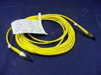 5M Leviton Fiber Optic Singlemode Simplex Patch Cable Cord ST FC SPC SPSTF-S05