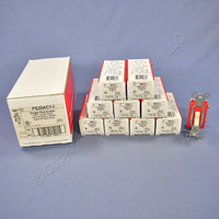 10 Pass & Seymour Ivory COMMERCIAL Toggle Light Switches 20A CS20AC1-I
