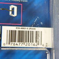 Leviton Black Quickport Gold Coaxial Cable Connector Jack Coax 40831-E BLUE CENTER
