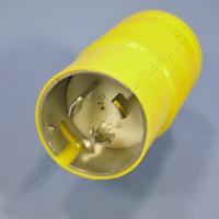 Leviton Turn Locking Marine Plug Twist Lock NON-NEMA 125V 50A Corrosion Resistant 6361-CR Bulk