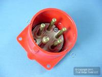 Leviton Pin & Sleeve Splashproof Plug Inlet 16A 220/380-240/415 SP516B6