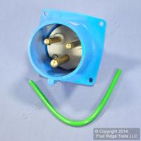 Leviton Industrial IP 44 Splashproof Pin & Sleeve Inlet Plug 30A 250VAC SP330B6