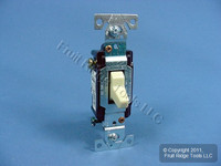 10 Eagle Electric Ivory COMMERCIAL Toggle Wall Light Switches 3-WAY 15A CS315V