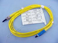 2M Leviton Fiber Optic Singlemode Simplex Patch Cable Cord ST SC SPC SPSCT-S02